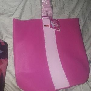 pink juicy couture leather bag